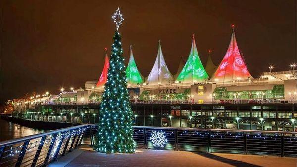 Vancouver Christmas Lights.Vancouver Downtown Christmas Lights Sat December 7